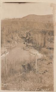 RP: The Bulkey River Canyon , G.T.P.R. , B.C. , Canada , 1900-10s
