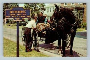 Lancaster PA- Pennsylvania Pennsylvania Dutch Country Amish Chrome c1969Postcard