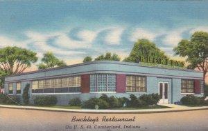 Indiana Cumberland Buckley's Restaurant sk1371