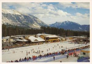 Canada Alberta Canmore Nordic Ski Centre