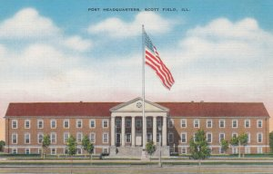 SCOTT FIELD , Illinois , 1930-40s ; Post Headquarters