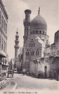 CAIRO, Egypt, 1900-1910s; The Blue Mosque
