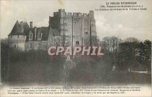 Old Postcard Le Perche Nogent Picturesque Retrou the E and L The Castle of St...