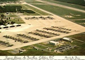 North Carolina Goldsboro Seymour Johnson Air Force Base Aerial View