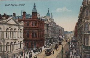 Trolleys On Royal Avenue Belfast Northern Ireland