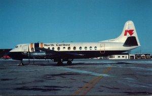 North Caribou Air Viscount 806 At Winnipeg Manitoba Canada