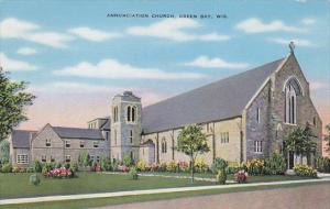 GREEN BAY, Wisconsin, 1930-1940´s; Annunciation Church