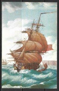 Massachusetts, Salem - Ship Mount Vernon - Painting - [MA-023]