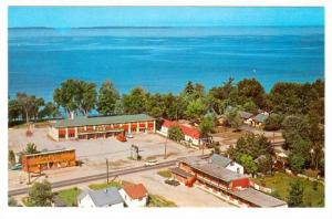 Scenic view showing The Bay Post and The Golden Dragon,  Peterborough,  Ontar...