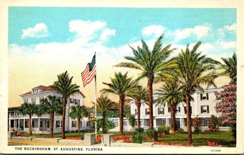 Florida St Augustine The Buckingham Hotel
