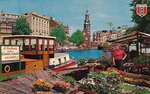 Netherlands Amsterdam Flowermarket Singel