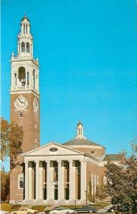 Burlington~University Of Vermont~3:55 at Allen Chapel 1970s PC