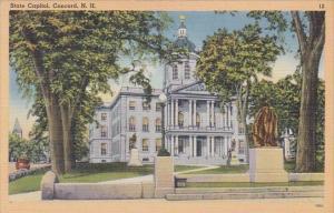 State Capitol Concord New Hampshire