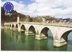 Germany  - Bridge over the Drina - EUFOR Feldpost Post Card