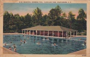 South Carolina Spartanburg Municipal Swimming Pool Cleveland Park