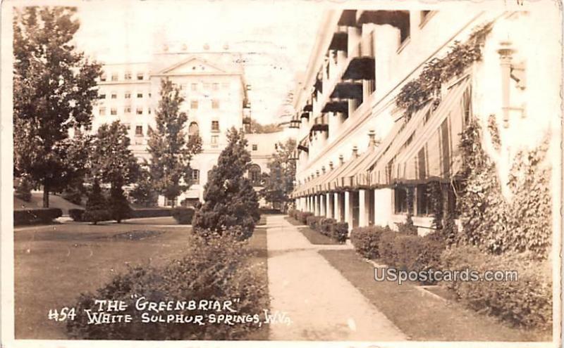 The Greenbrier White Sulphur Springs WV 1930