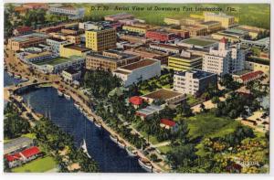 Downtown Fort Lauderdale FL