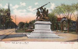 Wisconsin Milwaukee Soldiers' Monument