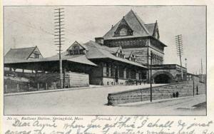 MA - Springfield. Railway Station