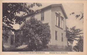 Indiana Brookville Governor Ray Residence Kraemer Art