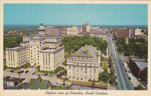 Aerial view, COLUMBIA, South Carolina, 40-60´