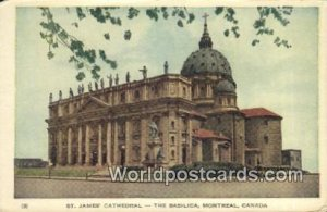 St James Cathedral, Basilica Montreal Canada Unused