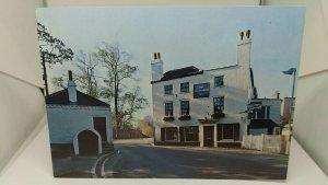 Vintage Postcard The Spaniards Inn Hampstead Heath North London Bass Beer 1980s