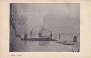 Library Steps, Waban, Massachusetts, 1910-1920s