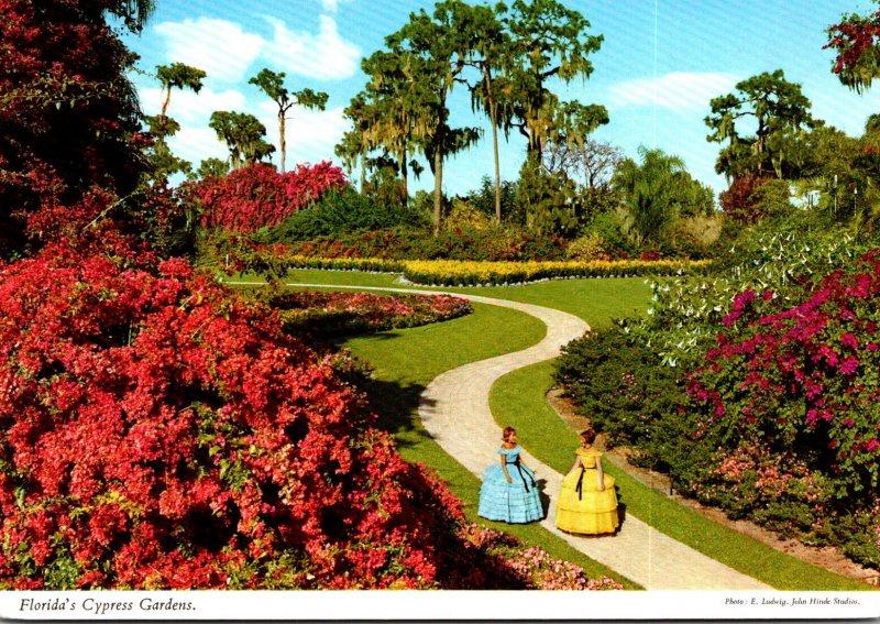 Florida Cypress Gardens Beautiful Scene
