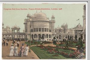 Franco British Exhibition 1908, Congress Hall PPC Unposted, By Valentines