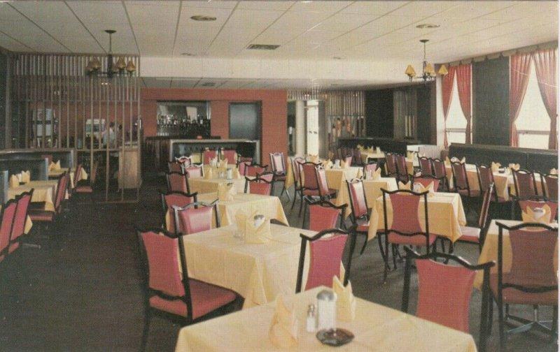 ST JOHN's, Newfoundland, Canada, 1975; Dining Room, Skyline Motel, Kenmount Road