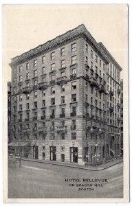 Boston, Hotel Bellevue on Beacon Hill