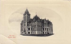 REGINA , Saskatchewan , Canada , 1911s ; City Hall