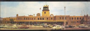EL PASO TEXAS INTERNATIONAL AIRPORT 1960's CARS VINTAGE POSTCARD