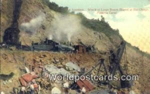 Panama Panama Canal Wreck of Large Steam Shovel, Bas Obispo