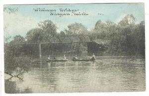 Boats, Williams Bridge, Allegan,Michigan,PU-1911