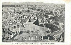 Italia Roma Panorama visto dalla Cupola di S Pietro 01.94