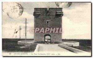Old Postcard Acute Dead Tower XIII century Carbonear
