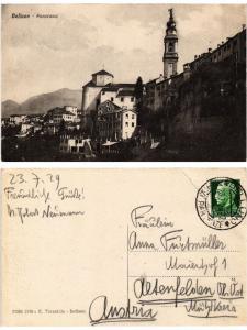 CPA Belluno Panorama. ITALY (520892)