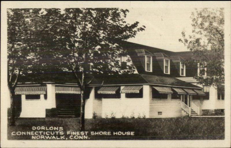 Norwalk Ct Dorlons Conns Finest Shouse Real P O Postcard Jrf Hippostcard