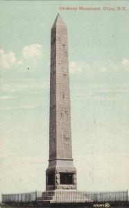 Oriskany Monument, Utica,   New York,  PU-1911