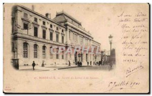 Bordeaux Old Postcard Faculty of Humanities and Sciences