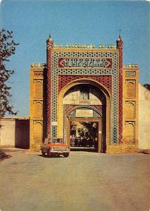 Uzbekistan Bukhara Gate Vintage Car Auto