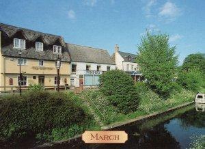 The Ship Inn Pub March Cambridgeshire Postcard