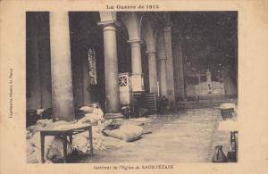 RAON l'ETAPE , France , 00-10s ;La Guerre de 1914 ; Interieur de l'Eglise de ...