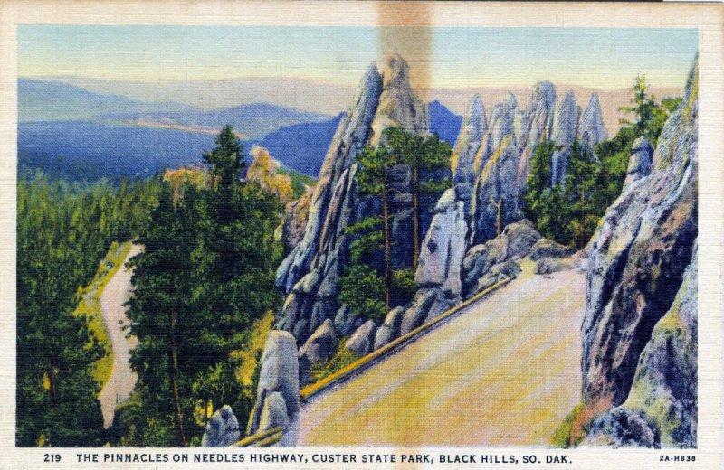 [ Linen ] US So. Dakota Black Hills - The Pinnacles