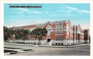Austin Texas~Austin High School~1920 Postcard