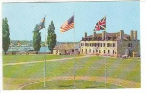 The Historic Flags, Old Fort Niagara, Youngstown, New York,  40-60s