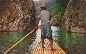 Raftsman , Rio Grande , Jamaica , B.W.I. , 40-60s