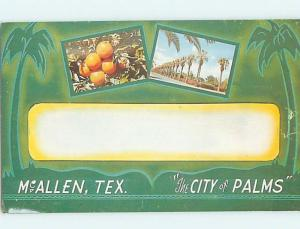 Unused Pre-1980 CITY OF PALMS Mcallen Texas TX hn0610